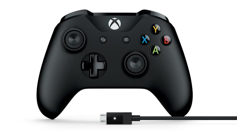 Геймпад Microsoft XboxOne Controller + Cable for Windows (4N6-00002)