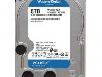Жесткий диск SATA 6TB 6GB/S 256MB BLUE WD60EZAZ WDC