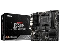 Материнская плата AMD B550 SAM4 MATX B550M PRO-VDH WIFI MSI